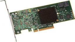 Kontroler LSI MegaRAID 9341-4I 12GB/SAS/Sgl/PCIe (LSI00419)