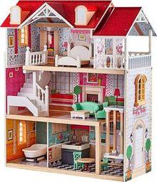 Brimarex Duży drewniany domek dla lalek