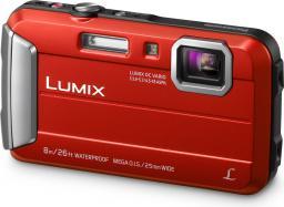 Aparat cyfrowy Panasonic DMC-FT30 Czerwony