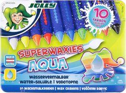 Jolly Kredki świecowe Aqua niełamiące się w metalowym pudełku (9014400035983)