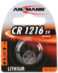 Ansmann Bateria guzikowa, 3V, CR 1216 (1516-0007)