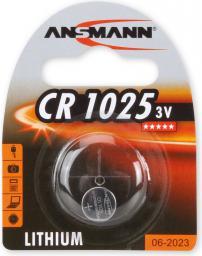 Ansmann Bateria guzikowa, 3V, CR 1025 (1516-0005)