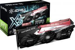 Karta graficzna Inno3D GeForce RTX 3060Ti iChill X3 RED 8GB GDDR6 (C306T3-08D6X-1671VA39H)