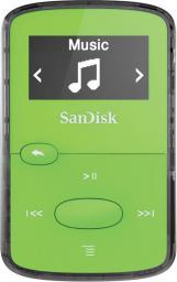 Odtwarzacz MP3 SanDisk SANSA Clip Jam 8GB zielony (001397080000)