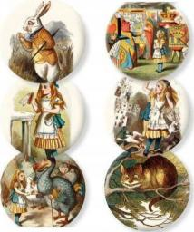 Lusterko kosmetyczne Museums & Galleries Alice in wonderland ozdobne (336404)