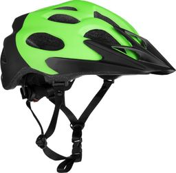 Spokey Kask rowerowy Checkpoint zielony r. L