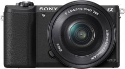 Aparat cyfrowy Sony ILCE-5100LB + SEL-P 16-50
