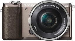 Aparat cyfrowy Sony ILCE-5100LT Brązowy + SEL-P 16-50