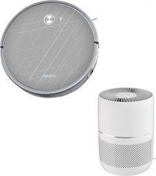 Robot sprzątający Neebo Grey+ oraz NEEBo Air Oczyszczacz Powietrza