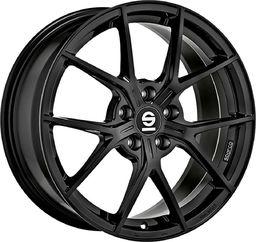 Sparco Felga aluminiowa Sparco Podio Gloss Black 7,5x17 5x112 ET 35 uniwersalny