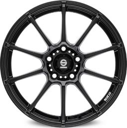 Sparco Felga aluminiowa ASSETTO GARA MATT BLACK 8x18 5x112 ET 35 uniwersalny