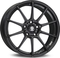 Sparco Felga aluminiowa ASSETTO GARA MATT BLACK 7,5x17 5x114,30 ET 45 uniwersalny