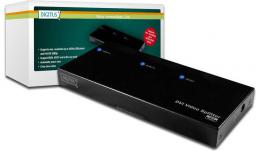 Digitus DIGITUS DVI video/audio splitter 2-Port max. 1920x1200 or 1080p incl. power supply - DS-41211 -