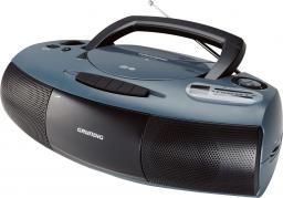 Radio Grundig RRCD 1400, CD-MP3 szaro-czarne (GDS3350)