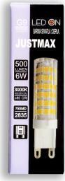 Auhilon Przezroczysta żarówka G9 LED ciepła 6W Auhilon WL-G9-6W01