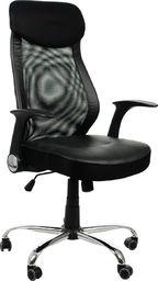 Stema Fotel ZH-376 czarny z ruchomymi podłokietnikami STEMA