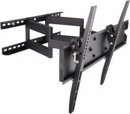 Techly Uchwyt Ścienny Do LCD 23-55'' 70kg VESA Pełna Regulacja Czarny (301429)