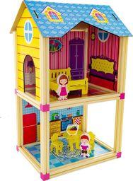 EURObaby Mały domek dla lalek niebieski (EBZ18H1287)