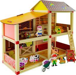 EURObaby Farma - domek dla lalek (EBZ18H1272)