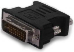 Adapter AV Savio DVI na VGA (M/F) Czarny (cl-25)