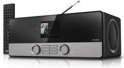 Radio Hama DIR3100 DAB+/FM, INTERNET - czarne (000548190000)
