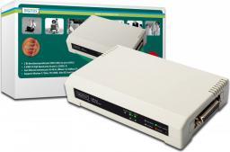 Digitus Serwer wydruku 10/100Mbps 2xUSB2.0 + 1xLPT (Parallel) (DN-13006-1)