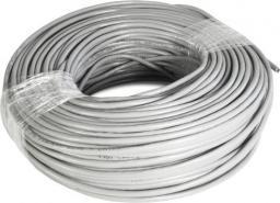 ART Kabel FTP rolka 100m, cat5e, CCA, drut oem (KABSRUTP5 AL-OEM-5FTP)