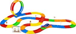 Kids World Świecący tor wyścigowy Maxi Race 282 elementy