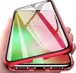 Magnetic Etui Magnetyczne Front+Back do Samsung Galaxy Note 20 (Czerwone) uniwersalny