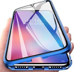 Magnetic Etui Magnet Front+Back do Samsung Galaxy S10 Lite (Niebieskie) uniwersalny