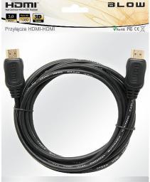 Kabel Blow HDMI - HDMI, 3, Czarny (92-213#)