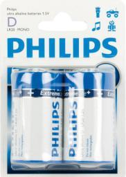 Philips Bateria D / R20 2szt.