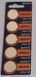 Sony Bateria CR2016 5szt.