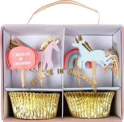 Meri Meri Meri Meri – I Believe In Unicorns Cupcake