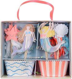 Meri Meri Meri Meri – Lets Be Mermaids Cupcake Kit