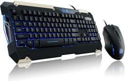 Thermaltake Commander Gaming Gear Combo (KB-CMC-PLBLUS-01)