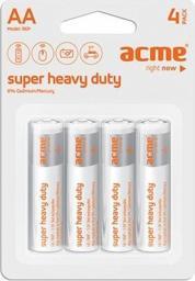 Acme Bateria Super Heavy Duty AA / R6 4szt.