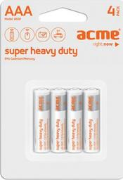 Acme Bateria Super Heavy Duty AAA / R03 4szt.