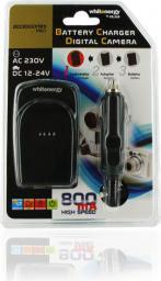 Ładowarka do aparatu Whitenergy Ładowarka dla Sony FE1 / FT1 z wymiennym adapterem (6404)