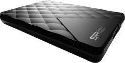 Dysk zewnętrzny Silicon Power D06 1TB USB 3.0 (SP010TBPHDD06S3K)