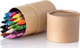 Upominkarnia 30 kredek świecowych w tubie STRIPER uniwersalny