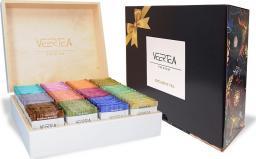 VEERTEA PREMIUM Zestaw skrzynka 180kopert - biel + karton prezentowy