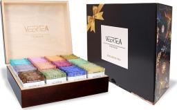 VEERTEA PREMIUM Zestaw skrzynka 180kopert - brąz + karton prezentowy