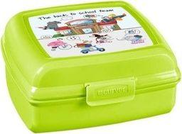 Curver Mały Lunchbox Śniadaniówka dla Dzieci do Szkoły Multisnap Zielony 0,9l Curver uniwersalny