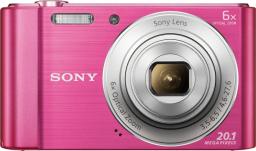 Aparat cyfrowy Sony Cyber-Shot DSC-W810 różowy