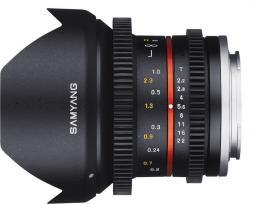Obiektyw Samyang 12mm f/2.2 NCS CS VDSLR Sony E (F1420506101)
