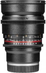 Obiektyw Samyang 16mm T2.2 VDSLR II Sony E Czarny (F1322706101)