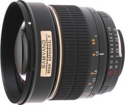 Obiektyw Samyang 85mm f/1.4 IF MC Canon (F1111201101)