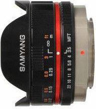 Obiektyw Samyang 7.5mm f/3.5 UMC Fisheye Micro 4/3 (F1230109101)