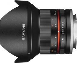 Obiektyw Samyang 12mm F2.0 Sony E Czarny (F1220506101)